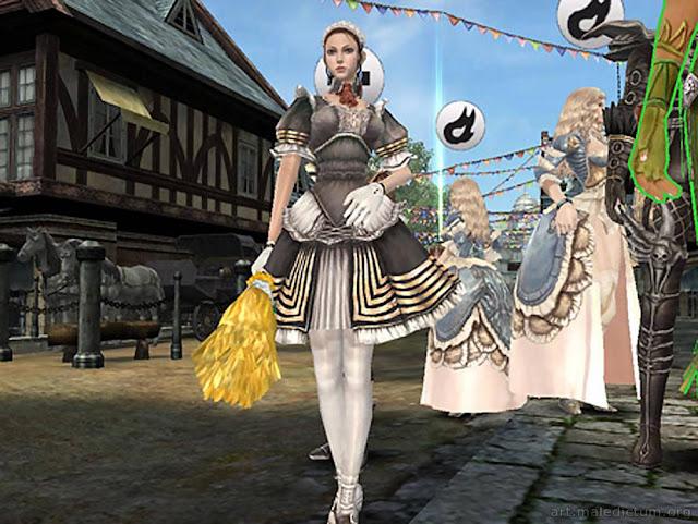 Granado Espada - девушка в платье служанки