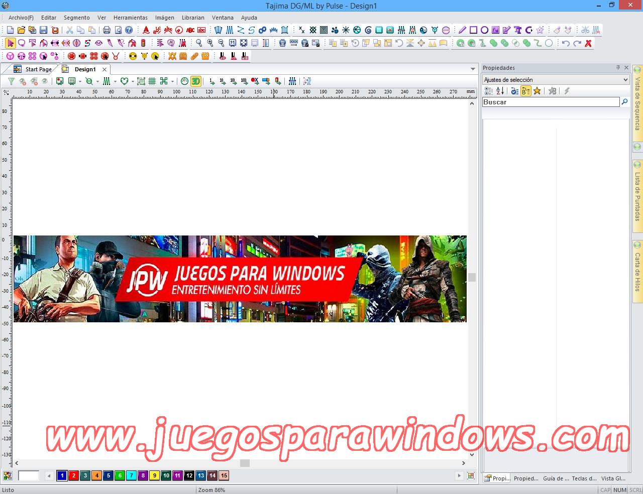 Tajima DG/ML By Pulse v14.1.2.5371 Multilenguaje ESPAÑOL Software De Bordado Profesional 9