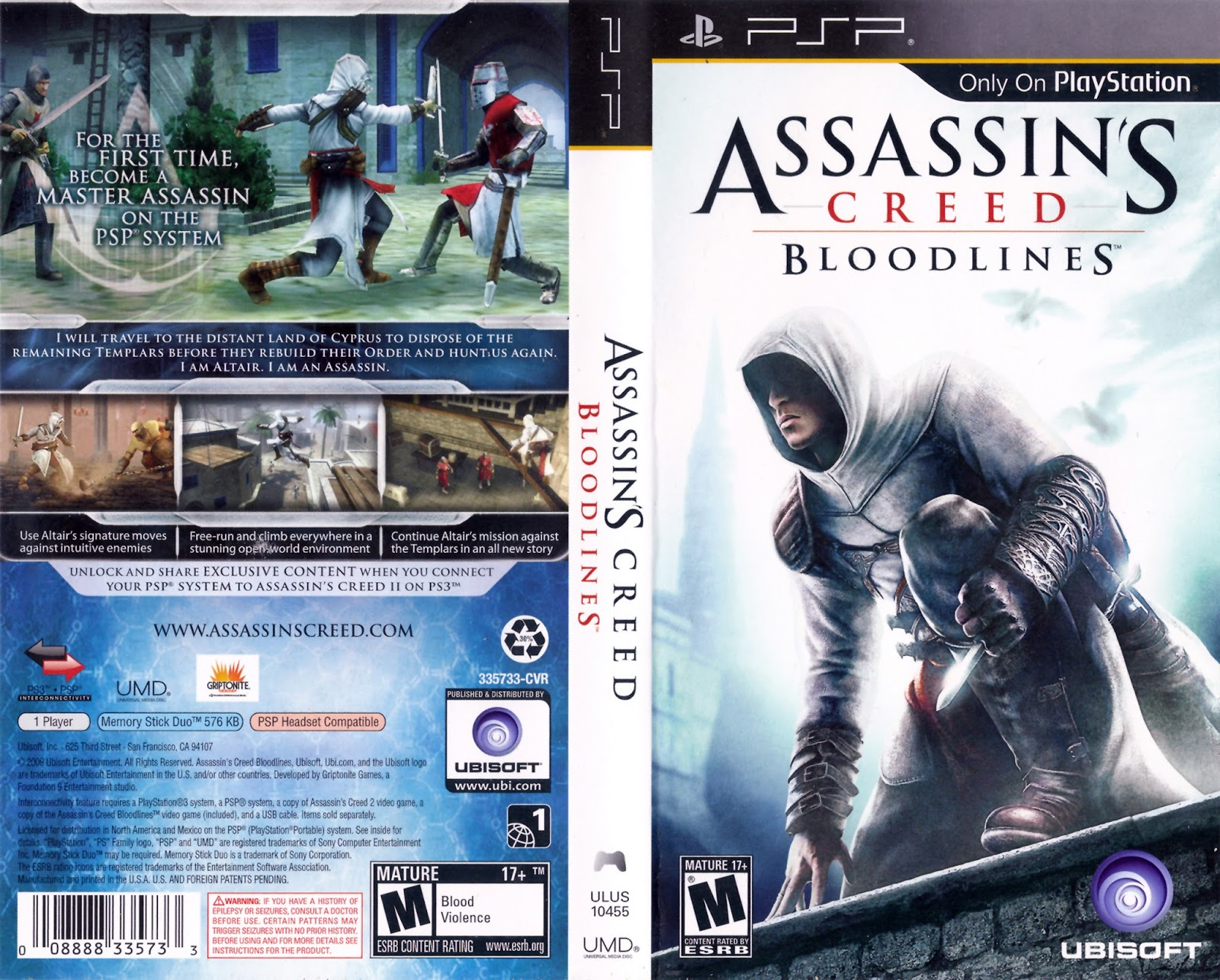 Assassins Creed Bloodlines Ppsspp Helper