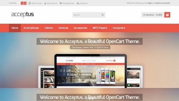 Social Media: +15 Plantillas para Opencart Gratuitas y de Calidad