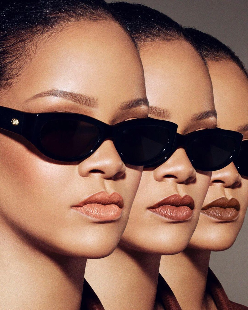 Rihanna stars in Fenty Beauty Stunna Lip Paint campaign