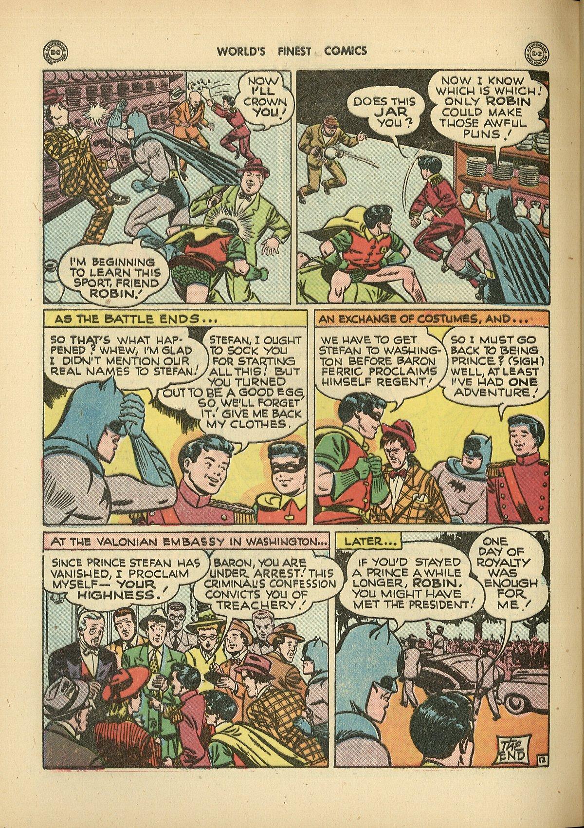 Read online World's Finest Comics comic -  Issue #26 - 72