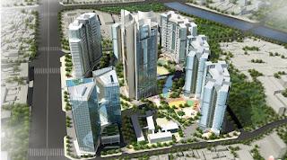 Toàn cảnh chung cư Smart City