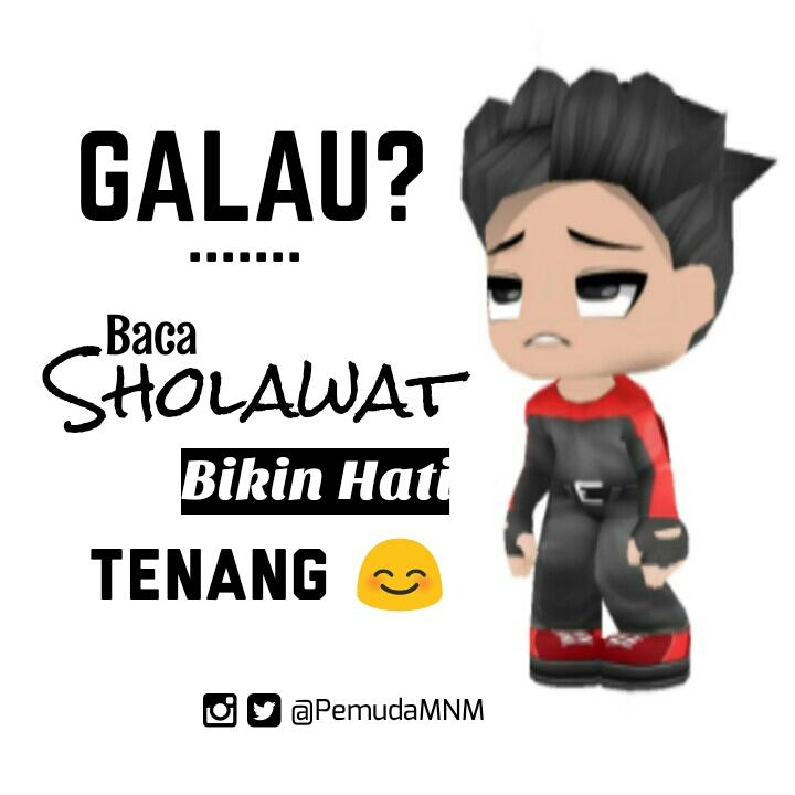 Download Wallpaper Galau? baca sholawat