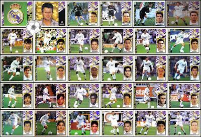 Real Madrid Colecciones Este 1998
