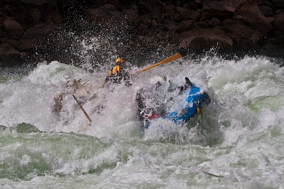 Jake Rehn and Joselin Reeves miraculously stayed upright, Colorado river Grand Canyon of the Colorado river, Chris Baer