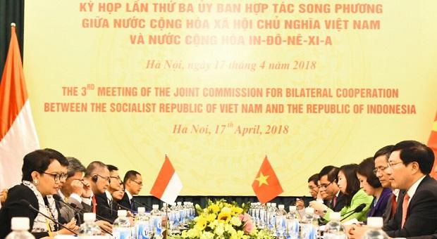 Bakamla RI Optimalkan Kerja Sama dengan Vietnam Coast Guard