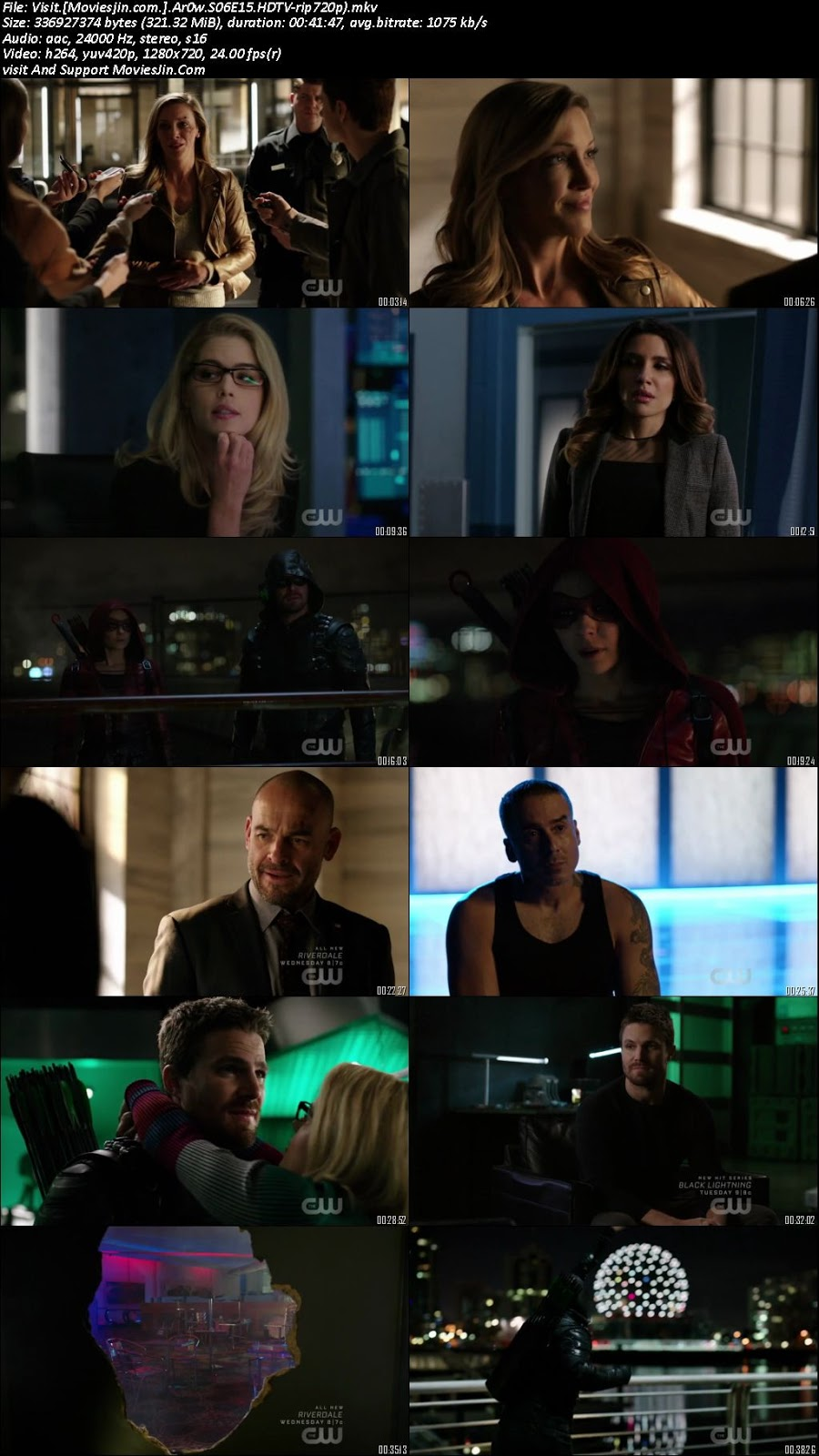 Arrow S06E15 330MB HD 720p TV-Rip WEBDL