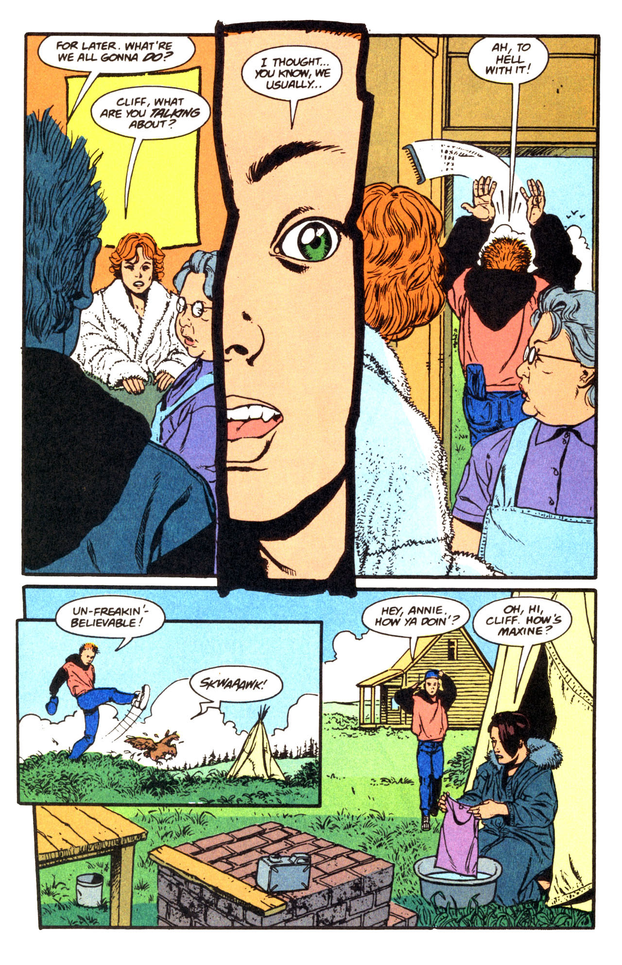 Read online Animal Man (1988) comic -  Issue #67 - 8