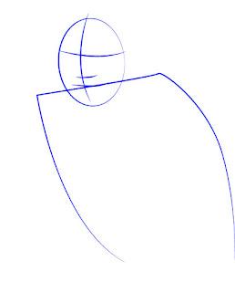 Langkah 1. Super Simpel Menggambar James Rodríguez