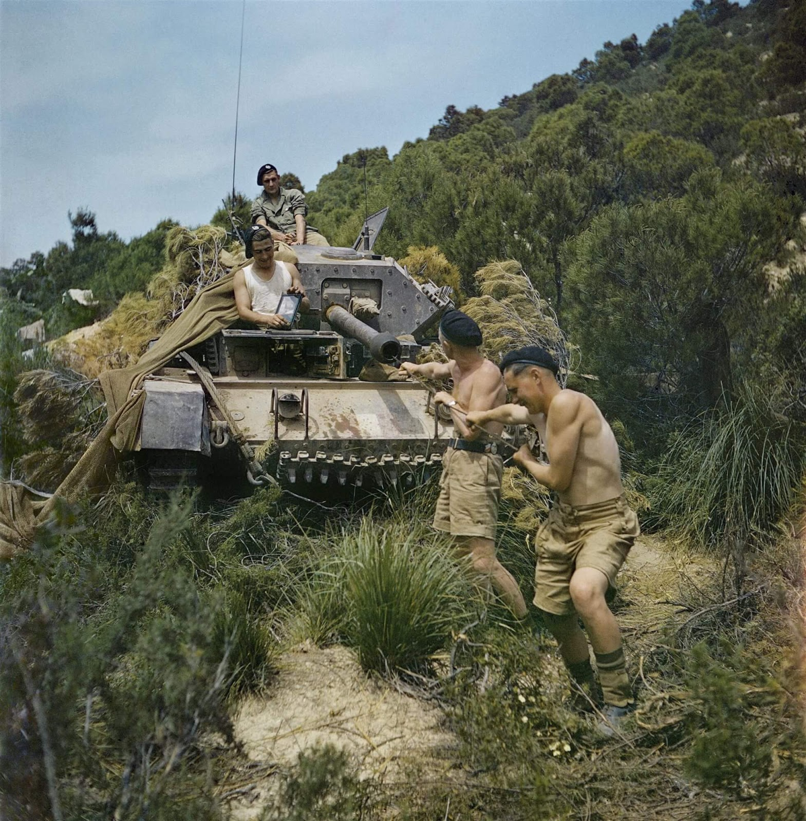 New Rare Colored Historical Pictures From The Second World War