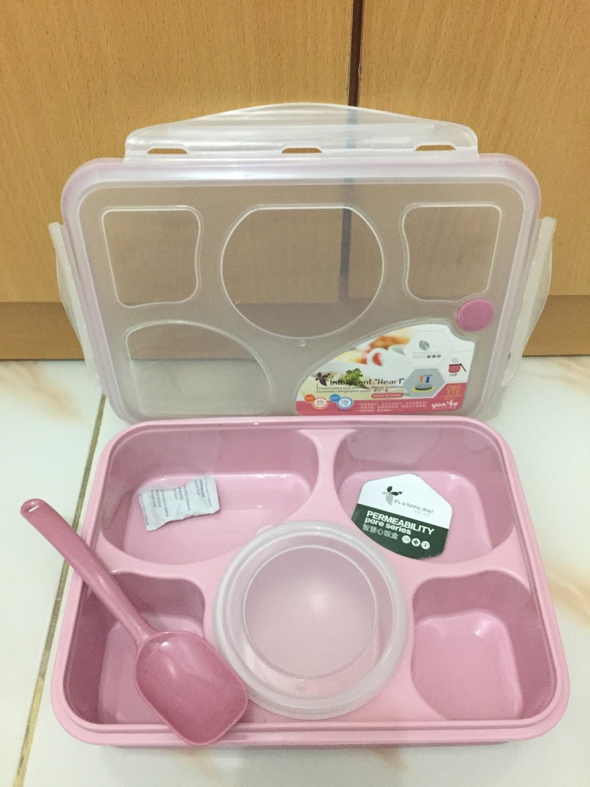 Barang Keren Unik Lunch Box Yooyee 5 Sekat Kotak Makan Lunchbox 4 Sup Terdapat Lubang Ventilasi Yang Dapat Dibuka Atau Ditutup Sesuai Kebutuhan Untuk Penguapan Digunakan Menjaga Kadar Kelembapan