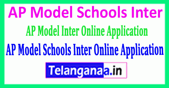 AP Model Schools Inter 2019 Online Application