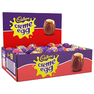 contains Milk, Soy, Eggs, 4 left in stock order soon Cadbury Creme Egg (48) £24.98