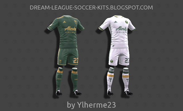 reputable site 931ac 821a1 Portland Timbers 2018 - Dream League Soccer Kits
