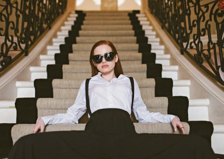 Madelaine Petsch x Privé Revaux 'Street' sunglasses