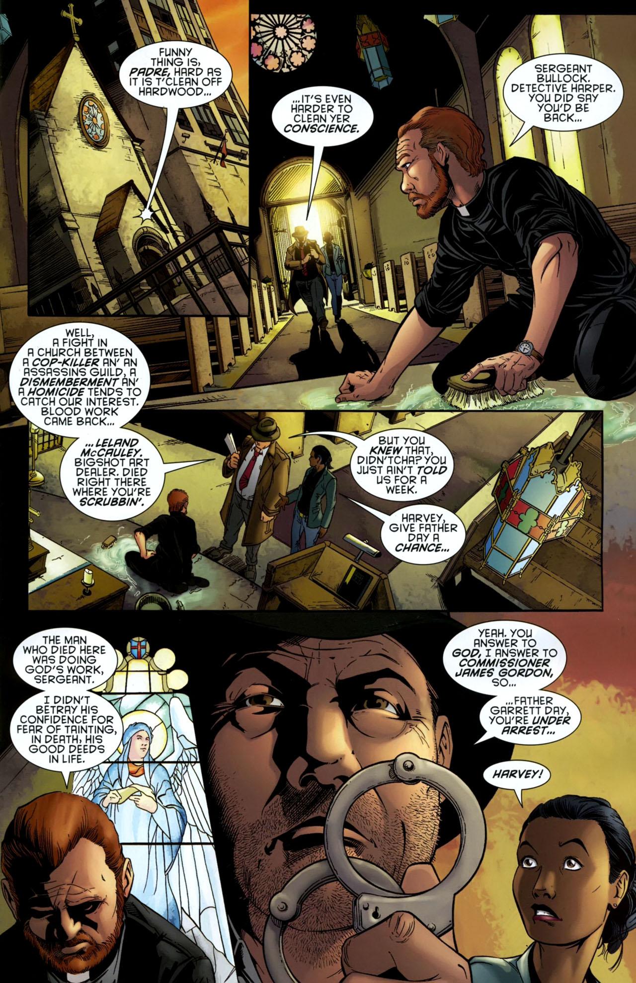 Read online Gotham Gazette comic -  Issue # Issue Batman Alive - 4