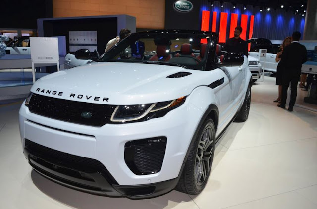 2017 Land Rover Range Rover Evoque Review And Price