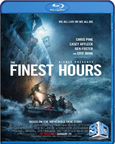 The Finest Hours [BD50] [3D] [2016] [Latino]