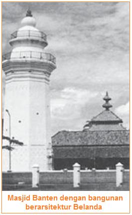 peninggalan kerajaan banten - masjid banten