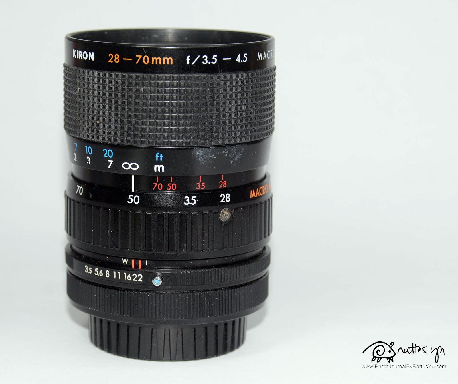 Kiron 28-70mm f/3.5-4.5 Macro