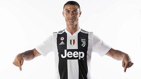 Chiếc áo đấu mới ra mắt của Juventus