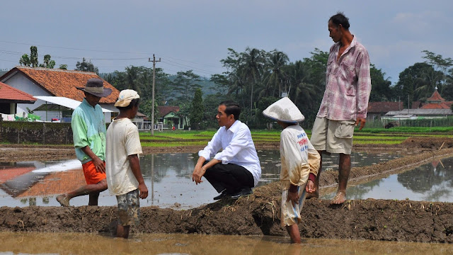 Jokowi tetap kerja dan Cuekin SBY