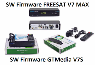 New SW Firmware Freesat V7 MAX and GTMedia V7S