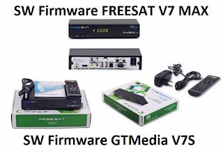 New SW Firmware Freesat V7 MAX and GTMedia V7S