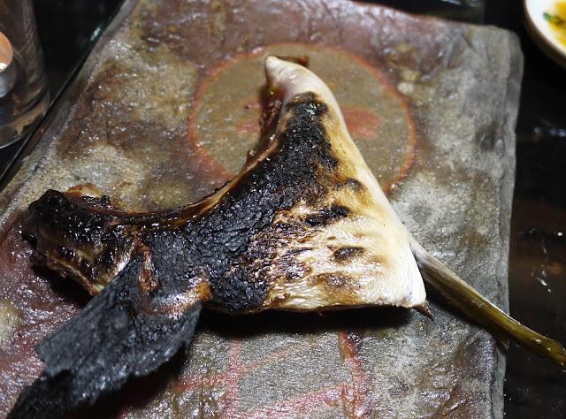 ブリの鎌 塩焼き