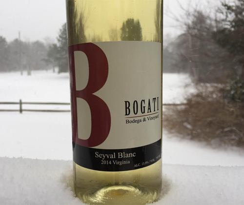 Bogadi 2014 Seyval Blanc