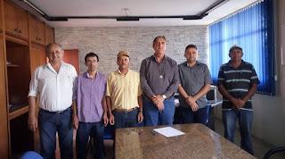 Membros da Cooperativa de mineradores de Frei Martinho se reuniram com diretor da DRMH da PB