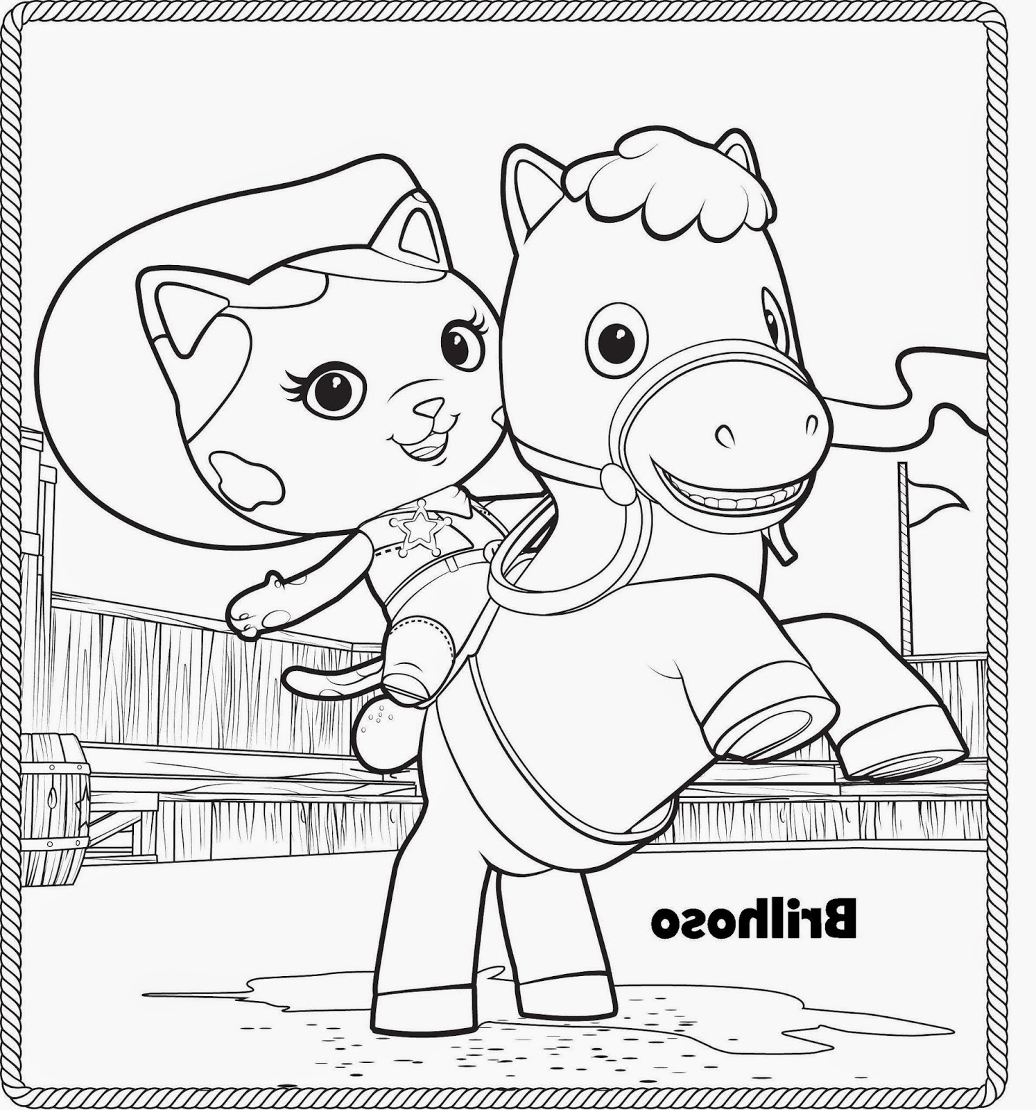 Mi Colección De Dibujos La Sheriff Callie