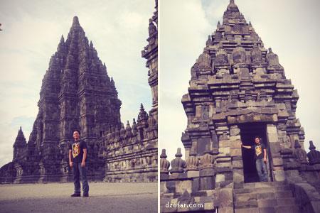 Candi Prambanan Featuring artis Nganjuk
