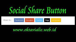 Cara Membuat Social Share Button Di Bawah Posting