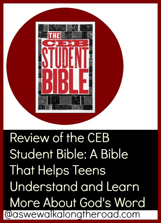 Review of a Common English Bible Study Bible for Teens