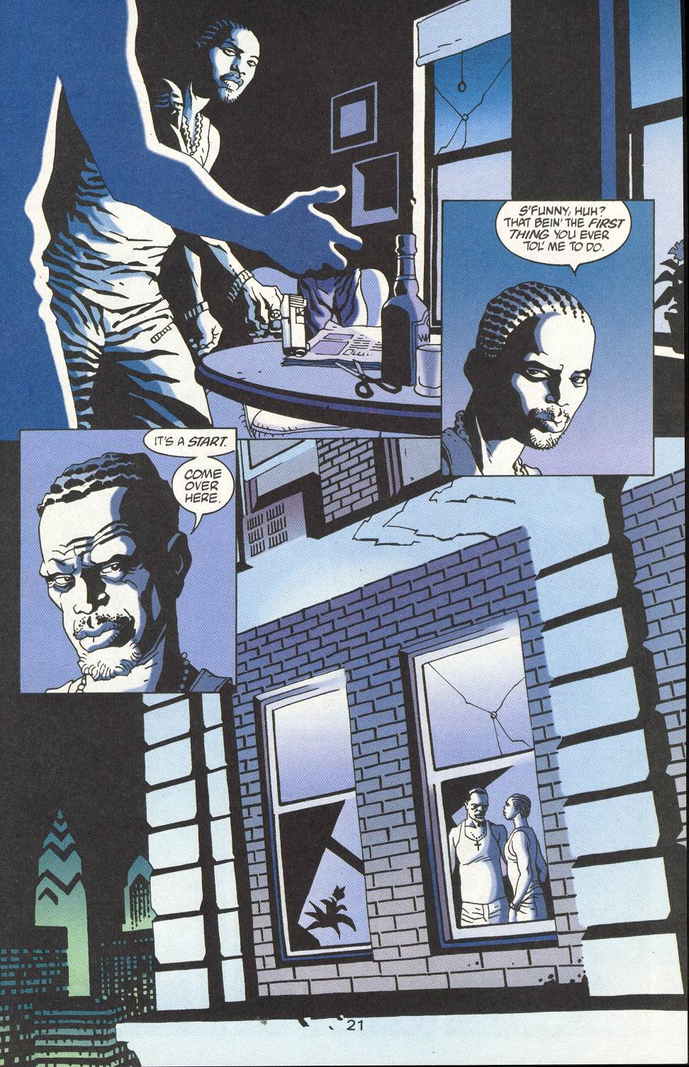 Read online 100 Bullets comic -  Issue #15 - 23