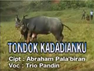 Lirik Lagu Toraja Tondok Kadadianku (Trio Pandin)
