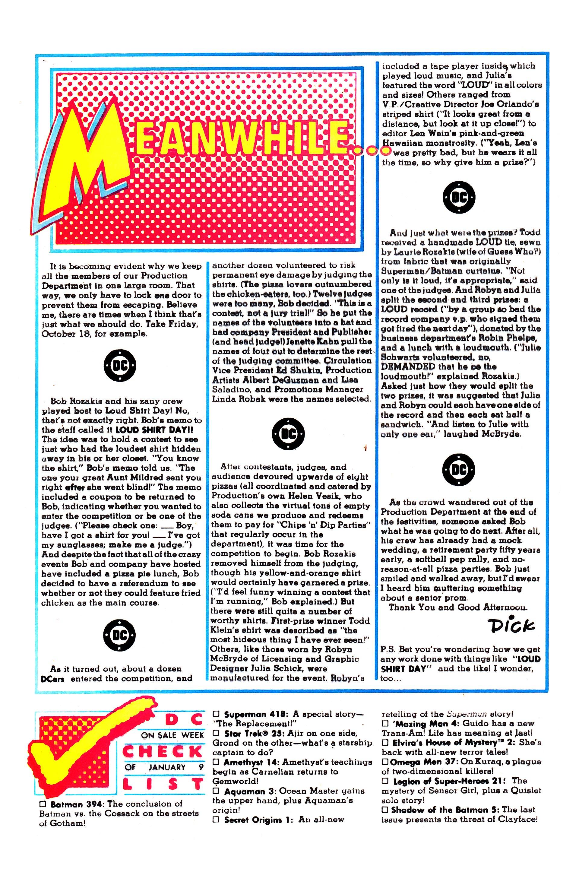 Read online Secret Origins (1986) comic -  Issue #1 - 24