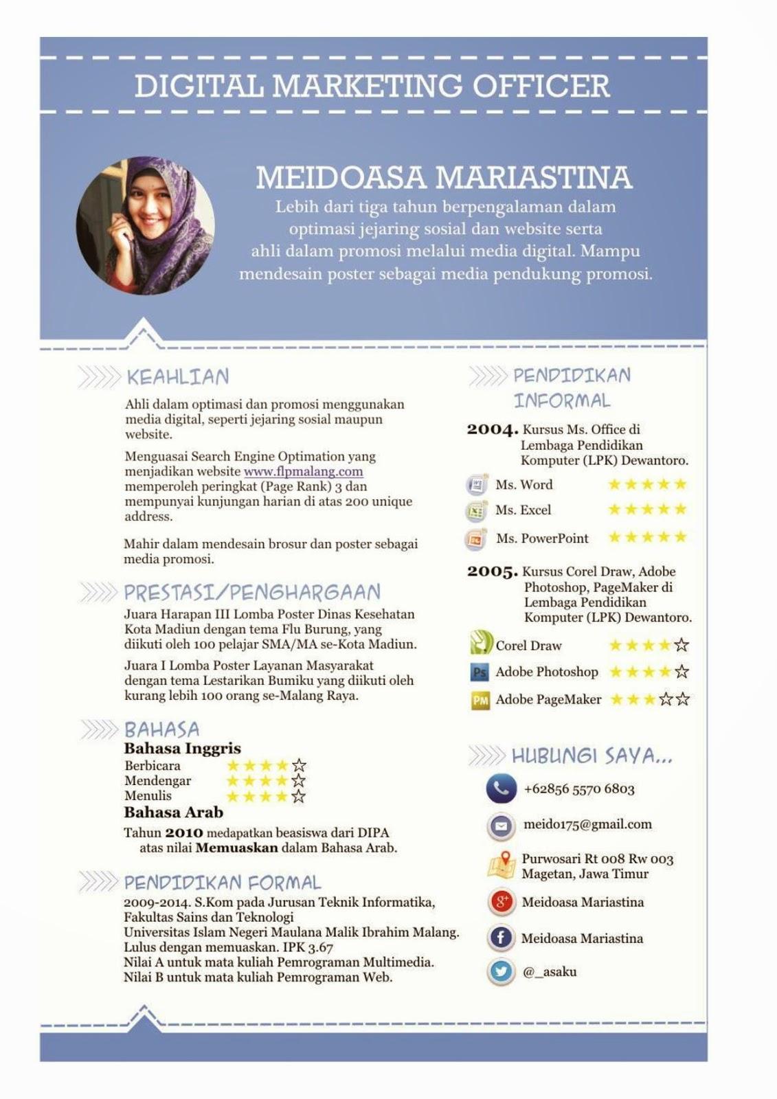 Cara Membuat Resume Yg Baik. buy contoh resume cv print posters on ...