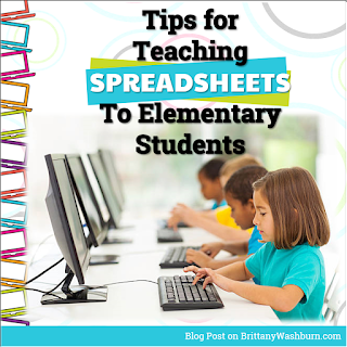6 Tips for Teaching Spreadsheet Software to Elementary Students