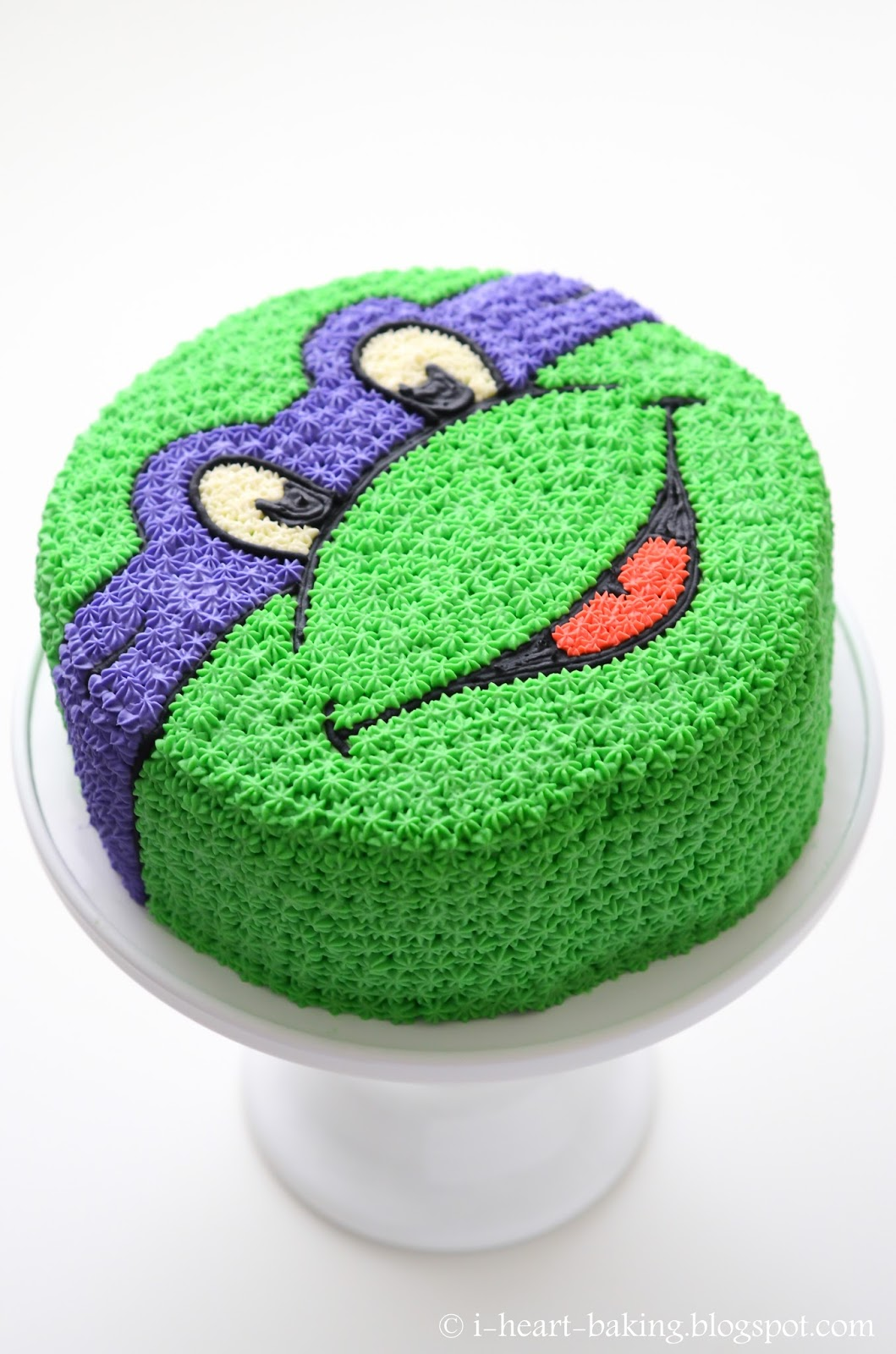 Make A Teenage Mutant Ninja Turtle Cake