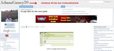 Google sites AdnanGuney59  ana sayfa görseli