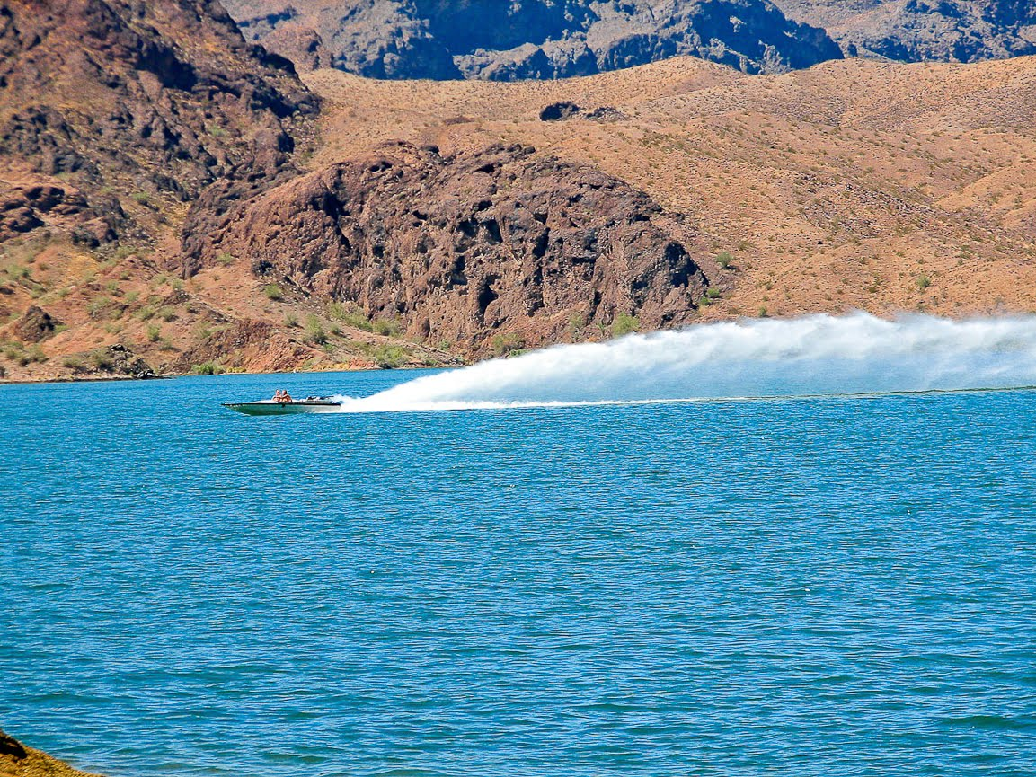 Underway on Lake Havasu