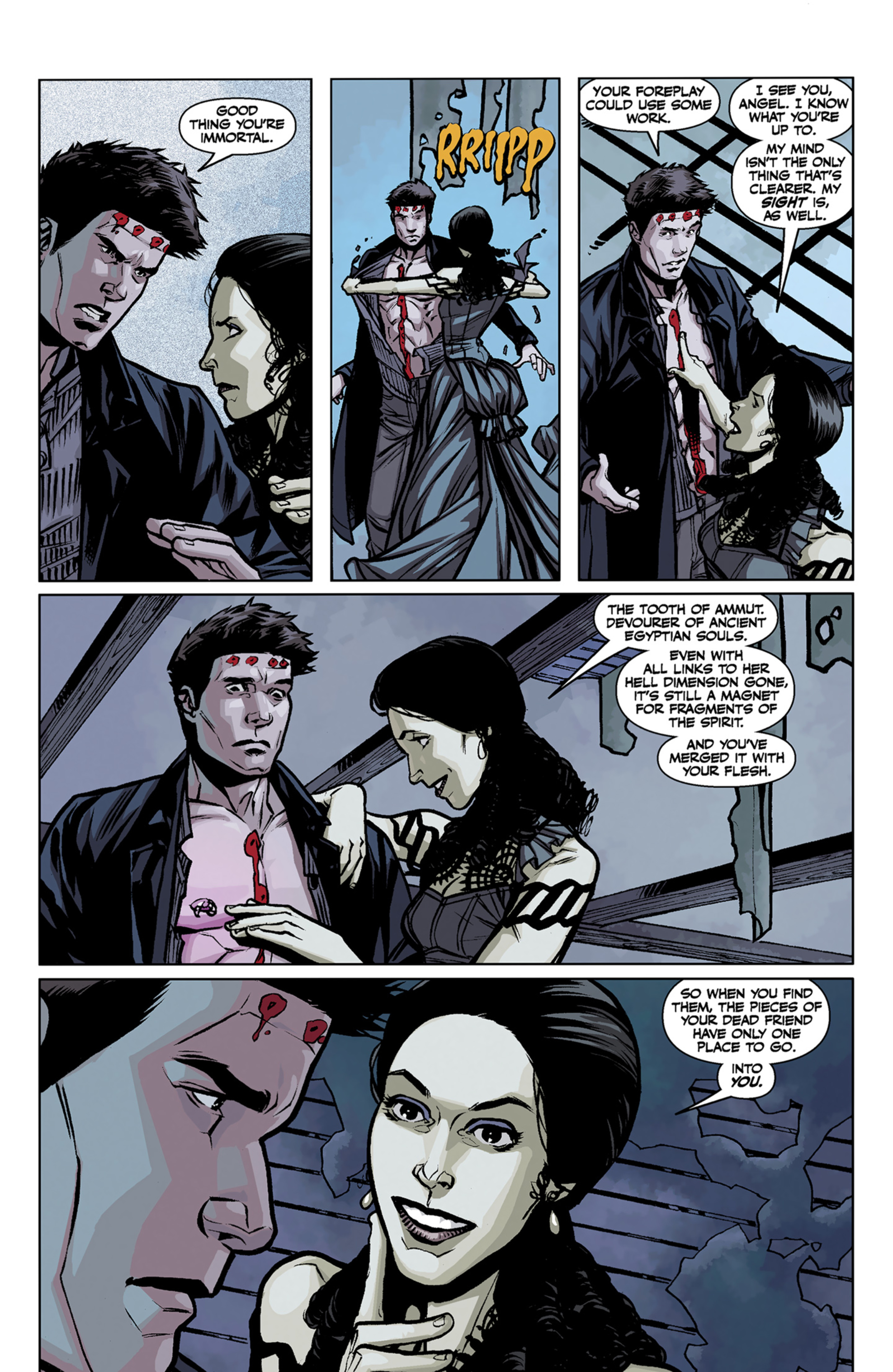 Read online Angel and Faith comic -  Issue #7 - 19