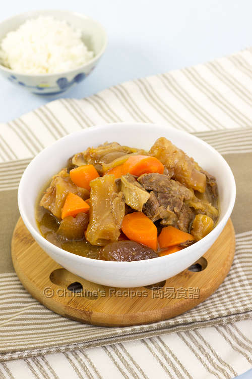 Beef Tendon and Brisket Stew