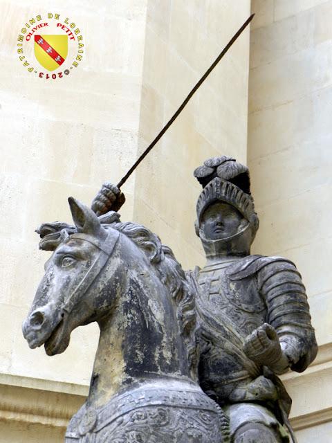 NANCY (54) - Musée Lorrain : Statue équestre de René II de Lorraine