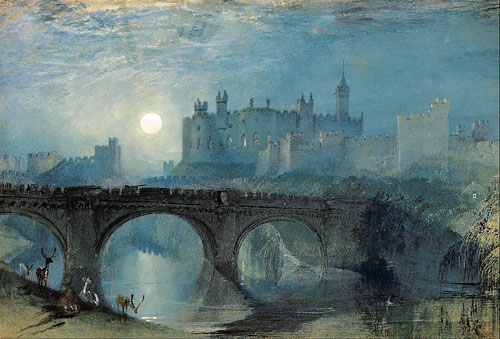 Alnwick Castle by Turner.