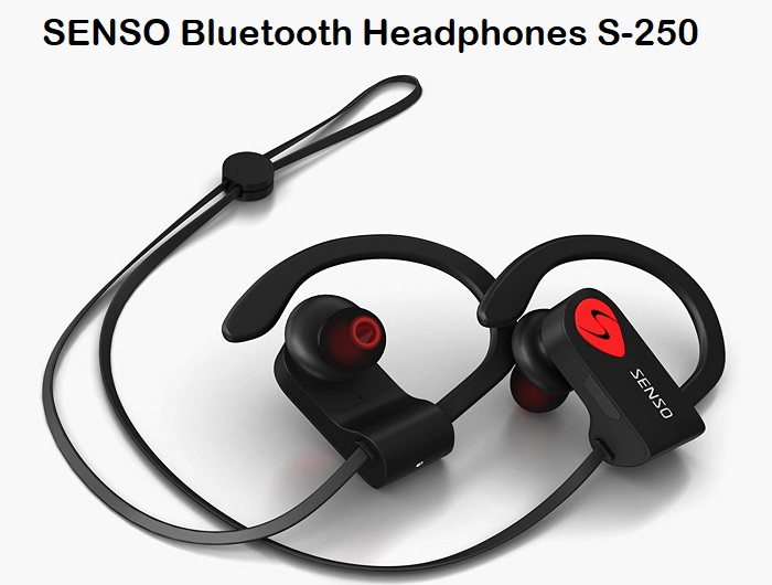 SENSO Bluetooth Headphones S-250