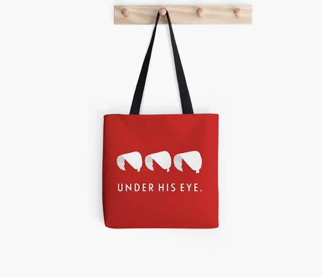 Under His Eye - handmaid's bag
